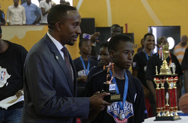 Baale Fayed, MVP NBA Junior League
